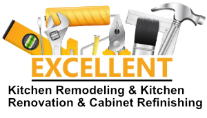 excellent cabinet and kitchen remodeling elmhurst logo