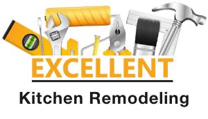 excellent kitchen remodeling logo